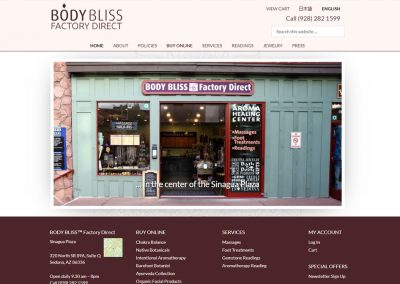 BODY BLISS Factory Direct
